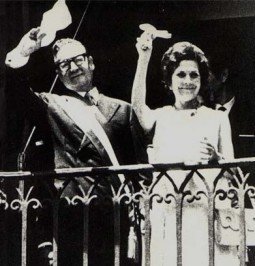 Salvador Allende and Hortensia Bussi, 1970