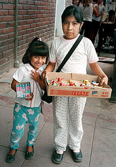 """Chicklet girls, Nogales, Son., Mexico""  Rick Soloway, photo"