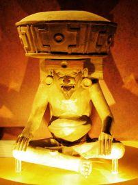 Huehueteotl, god of old age (Museo Nacional de Antropología)