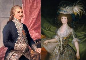 Godoy and Maria Luisa.