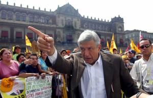 Andres Manuel Lopez Obrador, 2006 protests