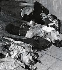 Tlatelolco 1968.  Iguala, Guerrero 2014?