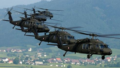 Coming soon to bombing a village near you?  (Photo Bundesheer/K. Tokunaga)